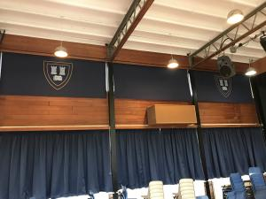 School Hall Blinds & Curtains - Shropshire