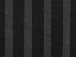 Printed Curtains - City Stripe  Black Grey