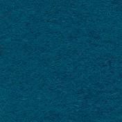 Wool Serge Melton - Teal
