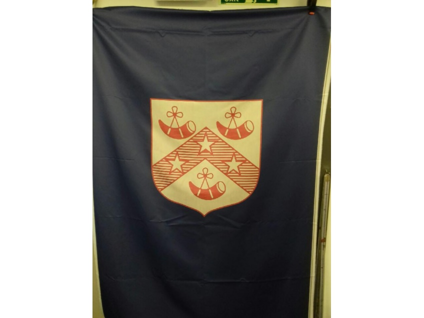 School Logo Curtains for School Halls & Stage Curtains -