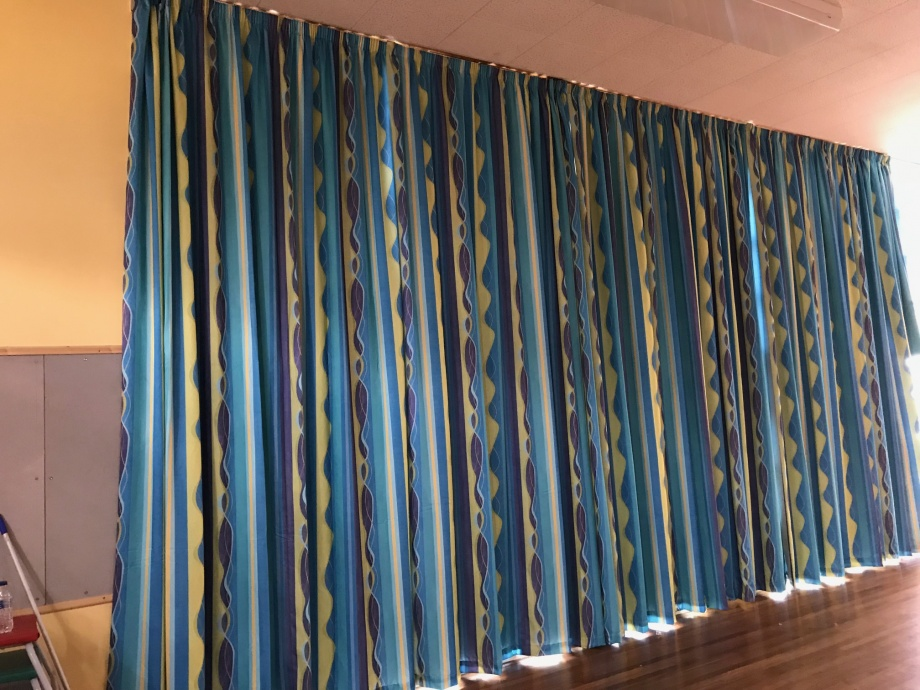 School Hall Curtains - Ely->title 1