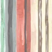 Printed Curtains - Galleries Carnival Salmon