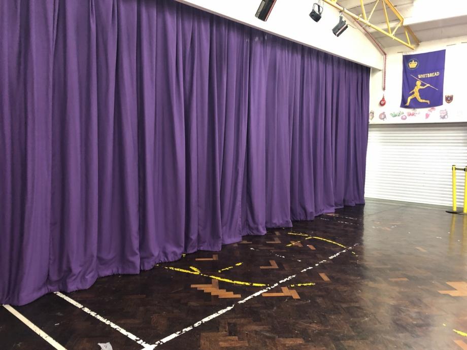 Junior School Hall Curtains - Romford->title 3
