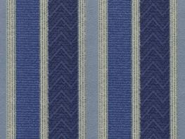 Printed Curtains - Nobel Stripe  Blue