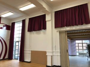 School Hall & Stage Curtains - Nuneaton
