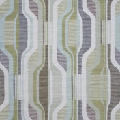 Printed Curtains - Balance Pistachio-Ivory