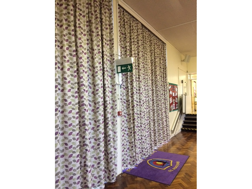 Curtains Gallery 4 - South Green Junior school, Billericay, May 2016