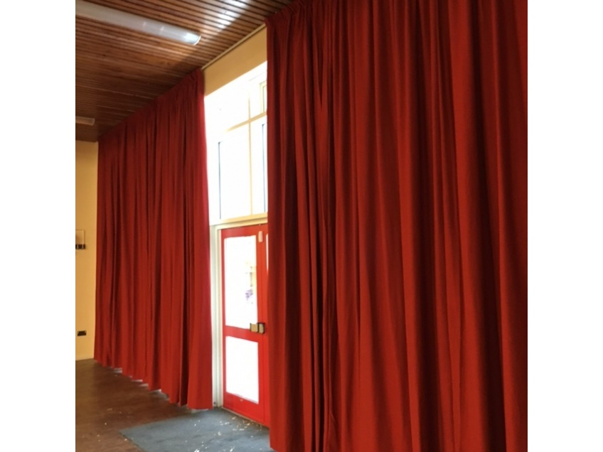 Curtains Gallery 4 - Sr Andrews & St Marks Primary school, London - August 2016