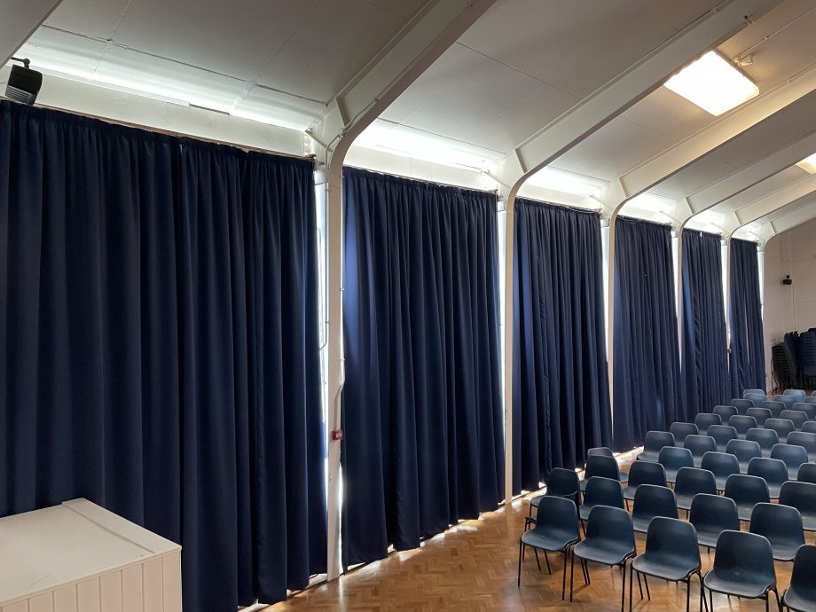 School Hall Blackout Curtains - Ullswater->title 1