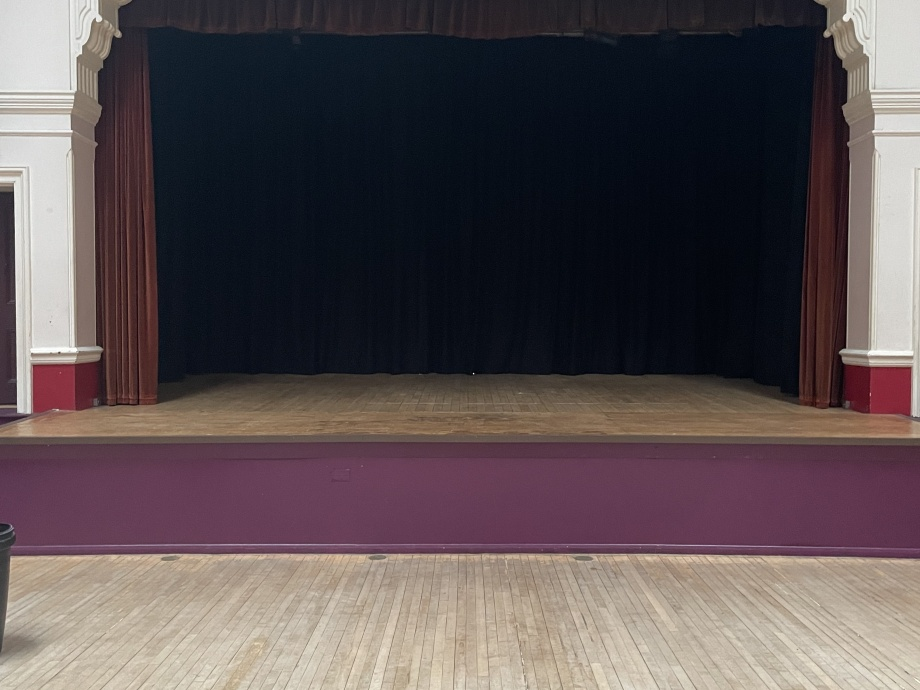 Hall Stage Curtains - London ->title 1