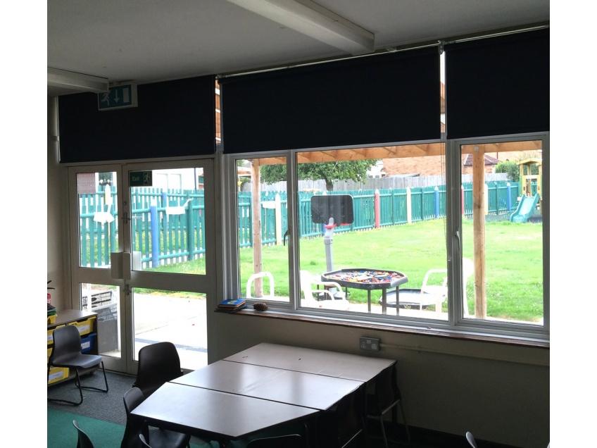 Blinds Gallery 1 - Ryvers school, Slough, August 2015
