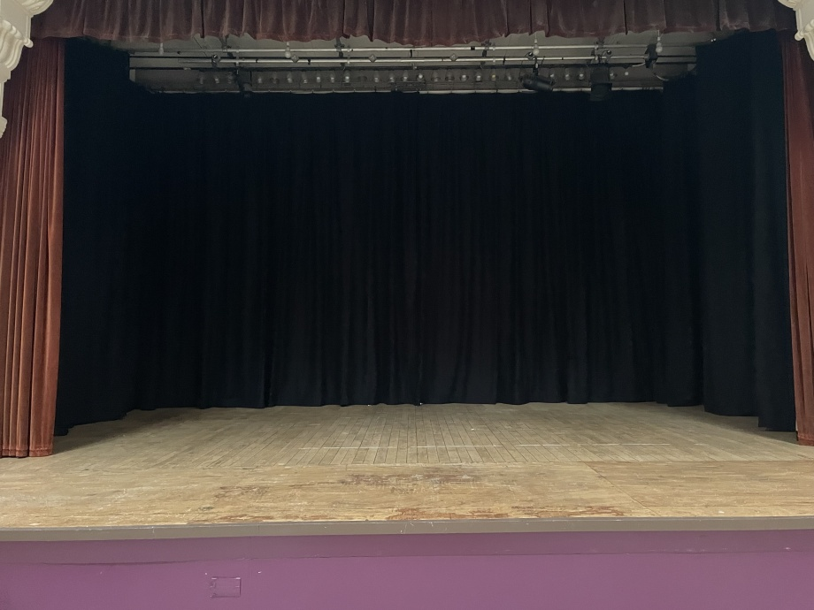 Hall Stage Curtains - London ->title 2