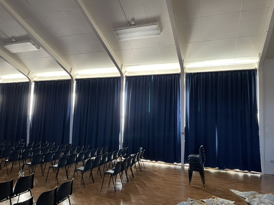 School Hall Blackout Curtains - Ullswater->title 3