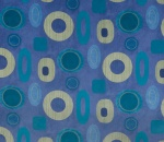 Printed Curtains - Lima Midnight
