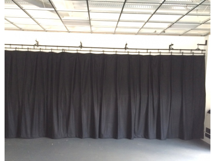 Stage Curtains 2 - Stowupland High school, Stowmarket, August 2015