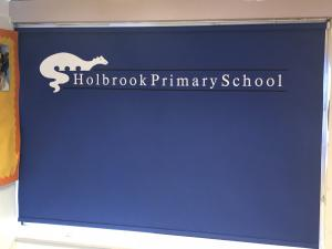 School Logo Printed Roller Blinds - Trowbridge