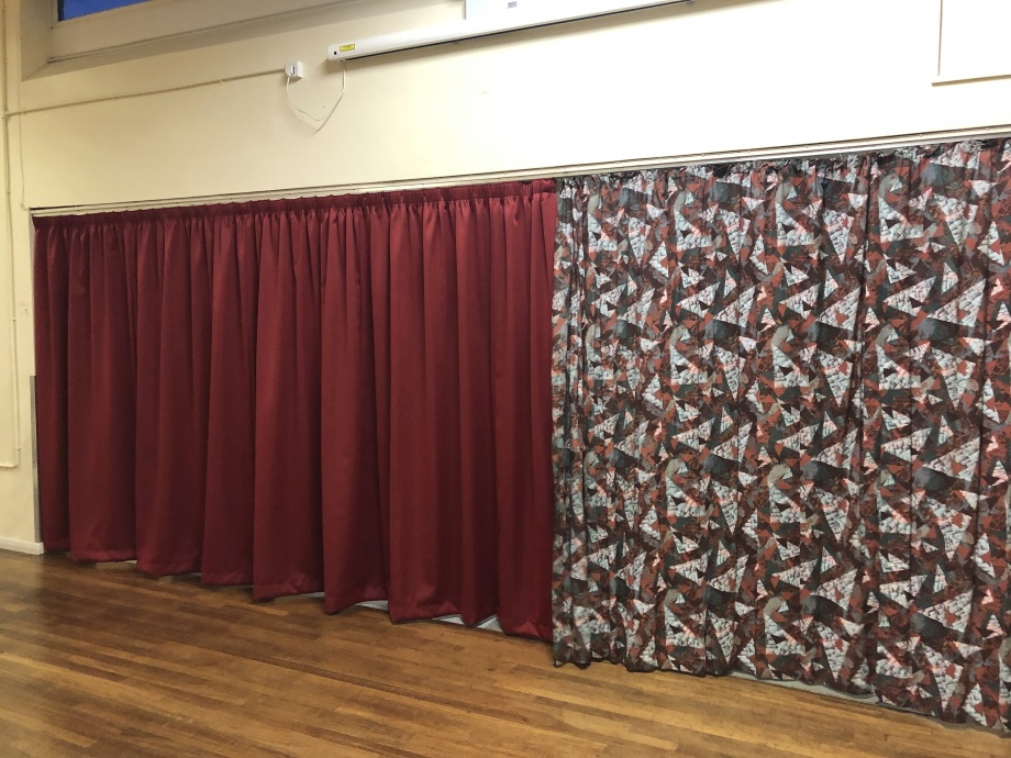 School Hall Curtains - Kent->title 3