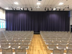 School Hall Curtains - Deneholm