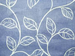 Printed Curtains - Swing Blue