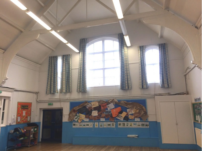 Curtains Gallery 1 - Avenue Junior school, Norwich 2015