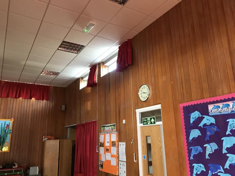 Primary School Hall Curtains - Swadlincote->title 3