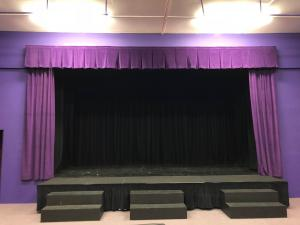 School Stage Curtains - Hindhead