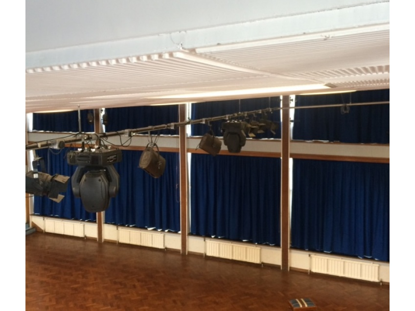 Curtains Gallery 1 - Ripon Grammar school, August 2015
