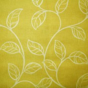 Printed Curtains - Swing Gold