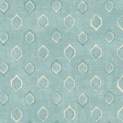 Printed Curtains - Verse Duckegg