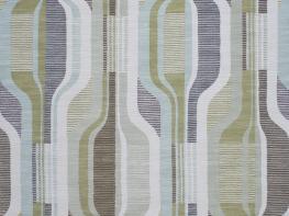 Printed Curtains - Balance Pistachio-Ivory