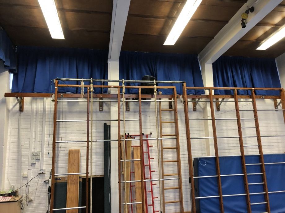 Primary School Hall Curtains - London->title 4