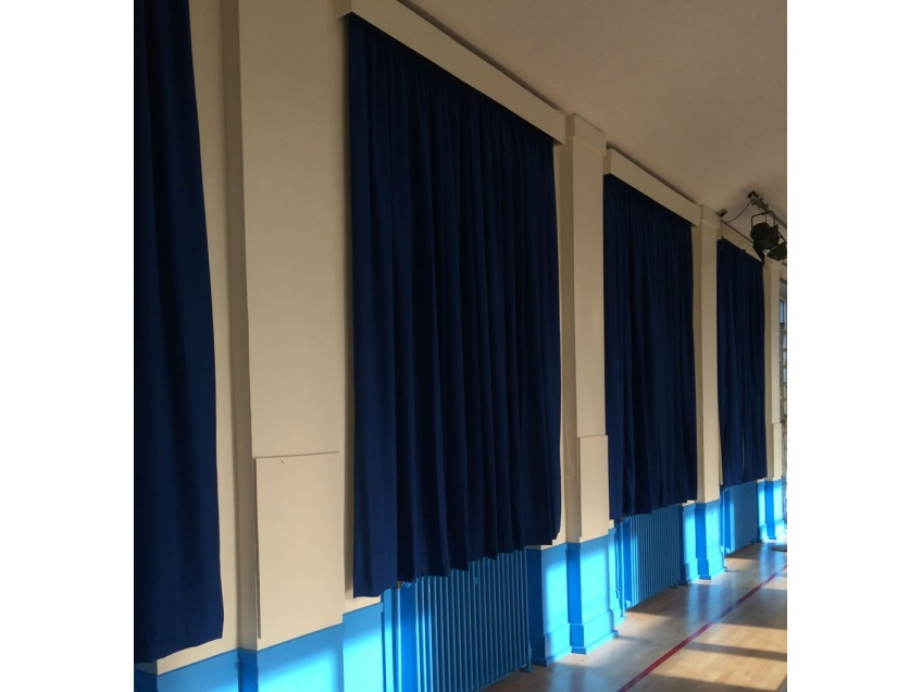 Curtains Gallery 2 - Willow Tree Primary school, Harrogate September 2015