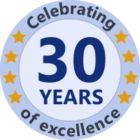 Celebrating 30 Years of Excellence - from 1989