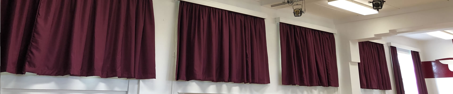 Flame Retardant Curtains for Schools Colleges Education